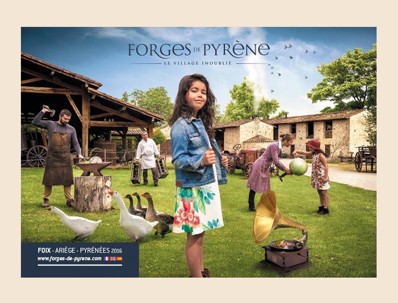 Parc de loisirs des forges de pyrène