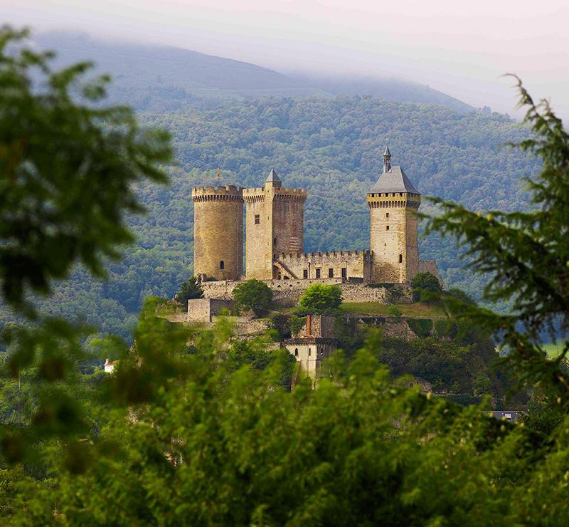 The castle - Forge Ariège Pyrénées