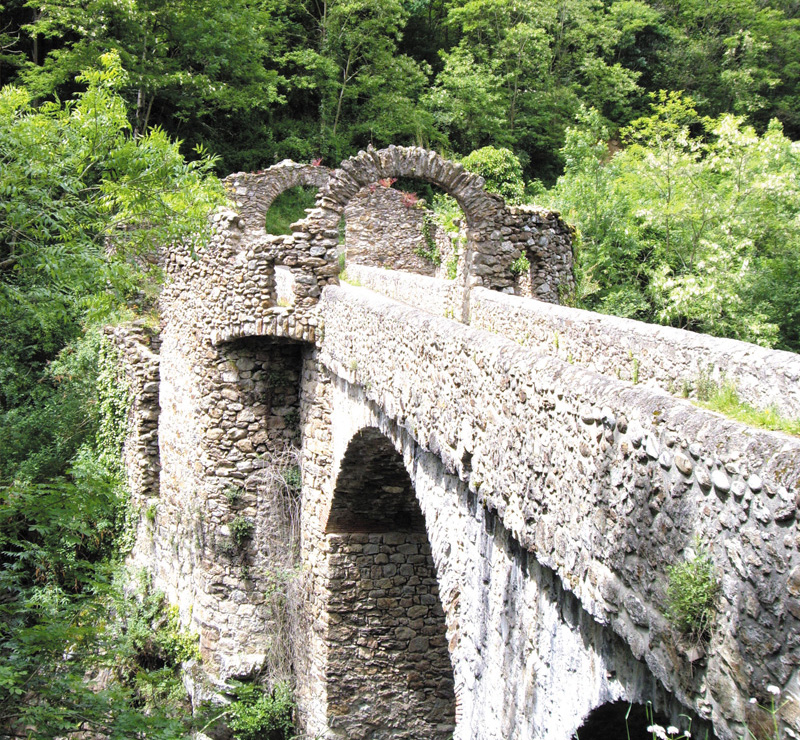 Le pont du diable - Forge Ariège Pyrénées