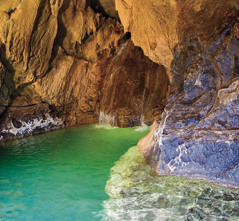 La rivière souterraine - Forge Ariège Pyrénées