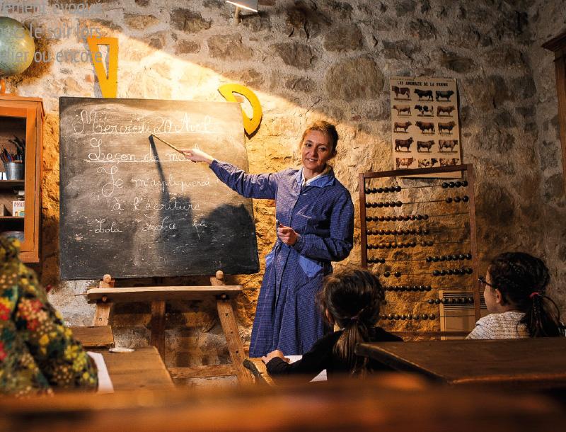 Village des métiers d'antan : atelier d'écriture