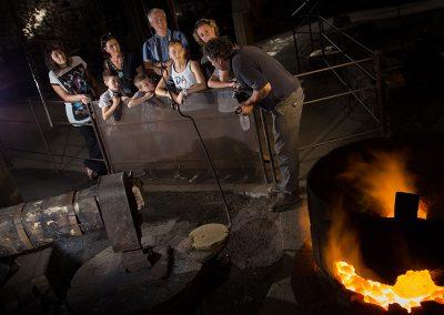 Atelier forge à martinet - Parc de loisirs Ariège