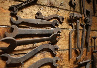 Collection d'outils - Savoir-faire d'antan