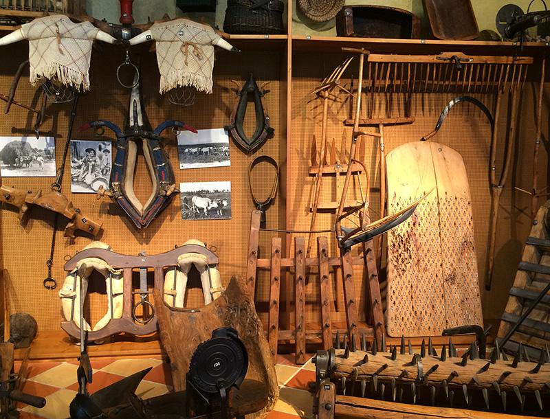 Le musée : collection d'objet d'antan