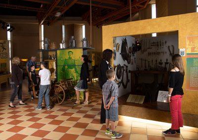 Musée exposition apprendre en s'amusant