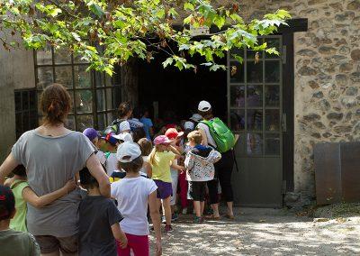 Visite scolaire Forges de Pyrene
